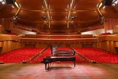 The concert hall of the Accademia Nazionale di Santa Cecilia, one of Italy's most prestigious concert venues, recently gained a C. Bechstein D 282, a masterpiece grand piano made in Germany. Photos: © Musacchio&Ianniello