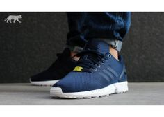 c3ec75c62 adidas ZX FLUX Mesh  Base Pack  (New Navy   Running white)