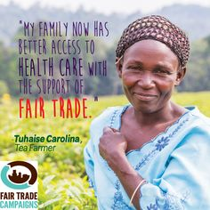 Your #FairTrade purchases make a difference.  Big thumbs up to YOU for choosing #Fair Trade!