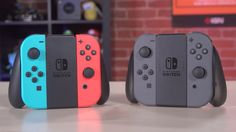 Nintendo Switch Accessories Unboxing See as we unbox the Joy Con grip that allows you to charge the Joy Cons as and the case designed to keep you Switch safe. February 23 2017 at 02:00PM https://www.youtube.com/user/ScottDogGaming