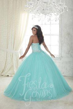 3ecd83b3d1d Fiesta Gowns 56300 Quinceanera Ballgown Formal
