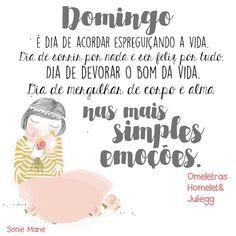 PoRtUgUêS nA TeLa: #domingando BOM//DIA//FELIZ//DOMINGO...
