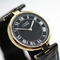 1970 Cartier Vintage Watch from vintagewatches on Ruby Lane