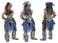 Banuk Sickness Eater Outfit from Horizon Zero Dawn