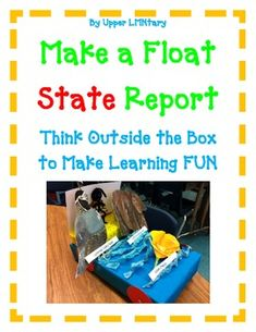 Your students will be completely engaged in this Parade FLOAT STATE report! This is the perfect activity to compliment your already assigned state report. There is even an opening in the float to hold the written report. This is a fun way your students can show what they have learned about the assigned STATE in a creative way!