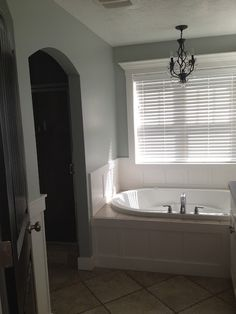 trimmed out tub