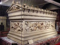 The Sarcophagus of Alexander the Great 1