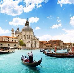 Venice, Italy.  Took a trip here with a group of Army wives.  An incredible city!
