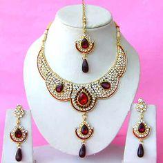 Diamond Bridal Jewelry Set NP-290
