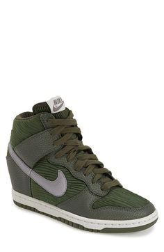 NIKE 'Dunk Sky Hi' Wedge Sneaker (Women). #nike #shoes #