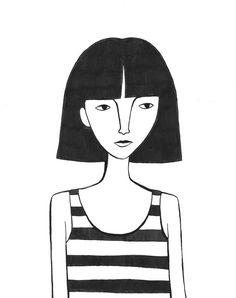 Ink Drawings - Jordan Grace Owens