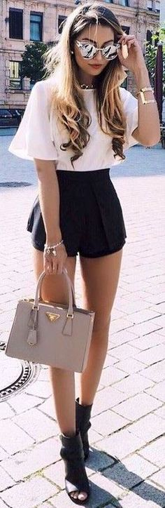 #fall #trending #outfits | Black and White