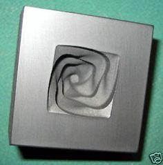 Push Mold Graphite Glass Lampwork Twisted Knob Bead   eBay