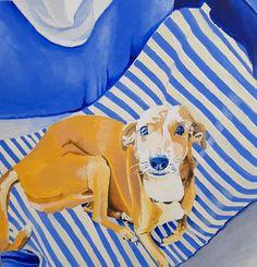 Portrait og Shoko, painted by Roee Lavan,oil on canvas, 2019 Oil On Canvas, Objects, Portrait, Painting, Design, Art, Art Background, Headshot Photography, Painting Art