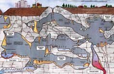 Solution And Collapse Features Of Karst Topography Credit US - Us caves map