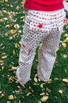all crafts How To Sew Cargo Pants  {kids clothes} photo