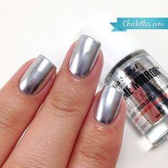 Mia Secret Chrome Mirror Nail Liquid - Review by Chickettes.com