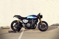 ϟ Hell Kustom ϟ: Yamaha By Roa Motorcycles Yamaha Cafe Racer, Moto Cafe, Cafe Bike, Cafe Racer Build, Retro Motorcycle, Cafe Racer Motorcycle, Motorcycle Clubs, Custom Street Bikes, Custom Bikes