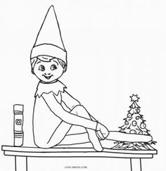 Christmas Coloring Pages Christmas Coloring Pages Elves Elf On