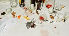 The Art of the Dinner Party GABRIELLE HAMILTON Menus from our Eat columnists conversation tips dream guest lists from star hosts and more. Still Life Photography, Food Photography, New York Times Magazine, The Secret History, Le Diner, Ny Times, Art Direction, Wine, Instagram