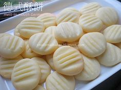 Melt in your mouth german cookies - super yummo! n only 4 ingredients :)