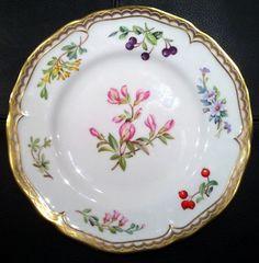 Salad Plate Sandringham pattern -Royal Worcester