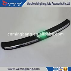 Auto Parts Accessories Plastic Rear Bumper Foot Plate Guard Plate For Honda CRV 2015 car-styling
