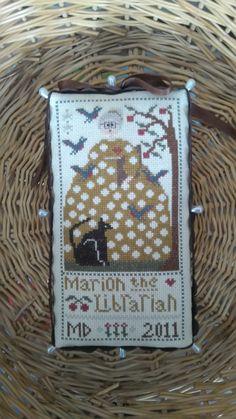 Marion the Librarian La D Da Designs