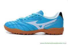 site de tenis MIZUNO Kangaroo skin Azul TF Masculino