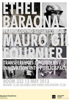 "Ethel Baraona ""Transcoding situationism""  13 de mayo de 2013"