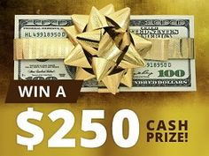 A Great chance for you to win $250 cash from Womans World Mag. This giveaways is available for the people of USA 13+  . Visit the usafreebiesdaily website for more new cash giveaways.