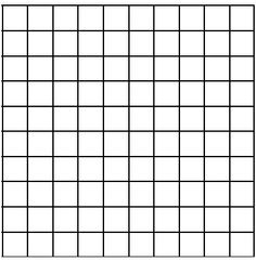 large grid graph paper for color charts