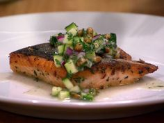 Get this all-star, easy-to-follow Marinated Arctic Char with Salsa Verde recipe from Anne Burrell.