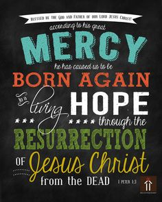 Just ordered this! 1 Peter 1:3 8X10 Easter Printable...$3.99 via Etsy.
