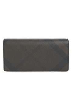BURBERRY 'Cavendish' Check Continental Wallet. #burberry #bags #leather #wallet #pvc #accessories #