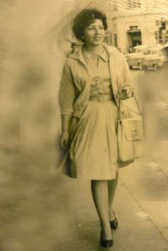 My Mom, Medellin Colombia 1960's?