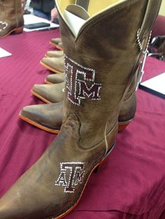 Aggie Mom Boots