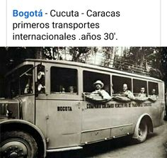 Caracas, Old Pictures, Transportation, Historia