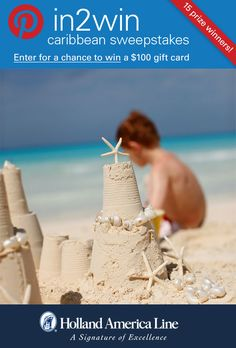 If playing surf-side says Caribbean Vacation to you, enter the @HALcruises #Pin2Win Caribbean #Sweepstakes for your chance to #win 100.00 American Express gift card.  #halfmooncay.  Enter now: http://www.hollandamerica.com/pageByName/Simple.action?requestPage=Pinterest_id=SM_Pinterest_Pin2WinCaribbean