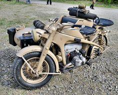 Zündapp KS750 Wehrmacht sidecar by The Adventurous Eye, via Flickr