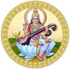 Vivi Devi Dasi: Yoga y Danza con Amor Lord Saraswati, Saraswati Mata, Saraswati Goddess, Maa Wallpaper, Krishna Wallpaper, Saraswati Picture, Indiana, Lord Shiva Family, Good Morning Wallpaper