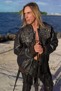 Iggy Pop by Mark Seliger