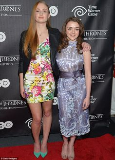 Game of Thrones stars Sophie Turner and Maisie Williams steal the show in…