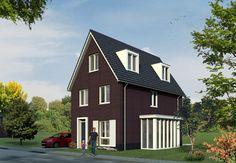 eigentijds woonsubliem vrijstaande woning bouwen