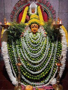 Durga Goddess, Ganesha, Amman, Wreaths, Halloween, Goddesses, Decor, Decoration, Door Wreaths