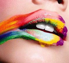 Lip art love