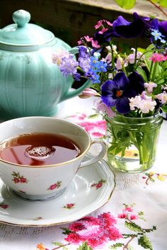 There is no trouble so great or grave that cannot be much diminished by a nice cup of tea.— Bernard-Paul Heroux.