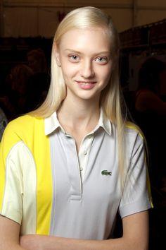 #NastyaKusakina #model #Lacoste