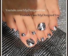 Born Pretty Mirror Polish Toenail Art by from Nail Art Gallery Pretty Toe Nails, Cute Toe Nails, Pretty Toes, Fancy Nails, My Nails, Beautiful Toes, Jamberry Nails, Toenail Art Designs, Toe Nail Designs