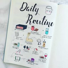 17 Routine spreads in your bullet journal to bring you more structure! 17 Routine spreads in your bullet journal to bring you more structure! Bullet Journal Inspo, Bullet Journal Health, Bullet Journal Page, Self Care Bullet Journal, Bullet Journal Notebook, Bullet Journal Aesthetic, Journal Pages, Daily Journal, Fitness Journal